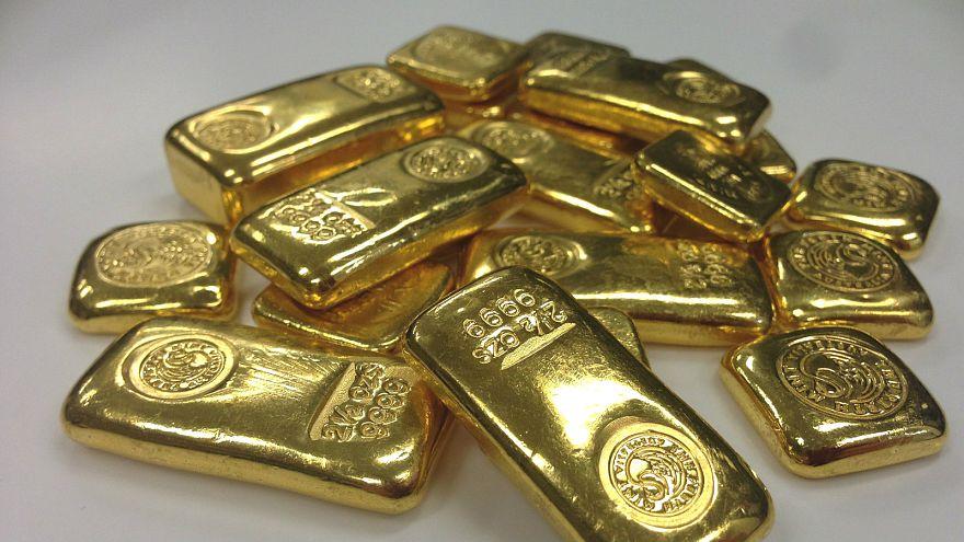 Generic photo of gold bars