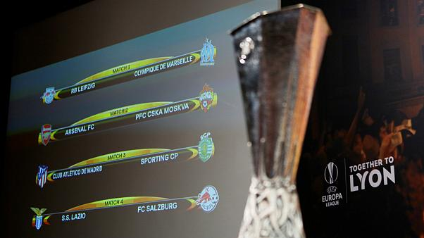 """A caminho da final de Lyon, o sorteios dos *quartos"""" da Liga Europa"""