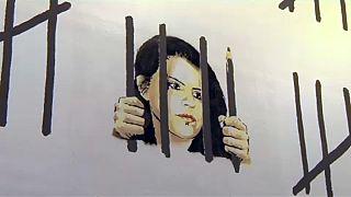 Banksy újabb provokatív műve