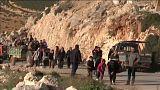 35.000 Zivilisten fliehen innerhalb eines Tages