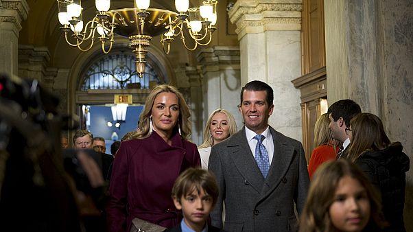 دونالد ترامب الابن وزوجته فانيسا