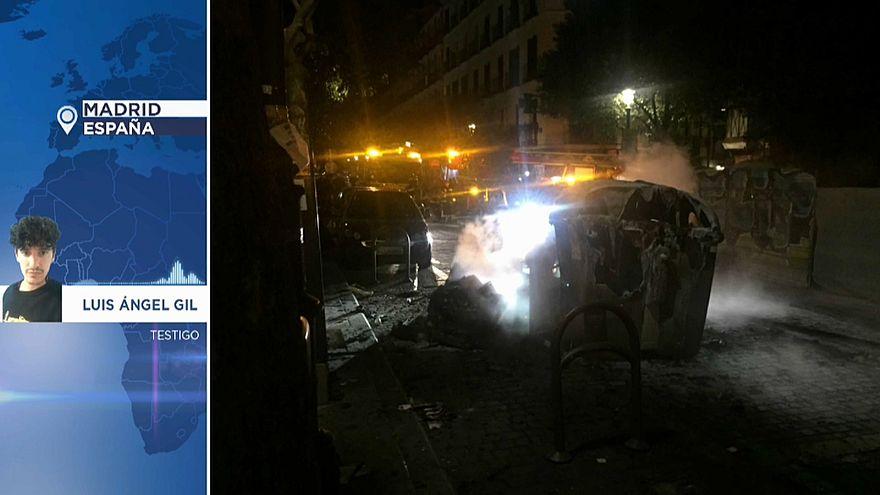 """Un testigo de Lavapiés: """"El barrio estaba sitiado por la policía"""""""