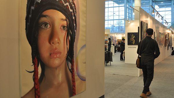 4. ARTANKARA Uluslararası Sanat Fuarı açıldı