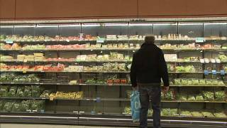 Drop in unprocessed food prices