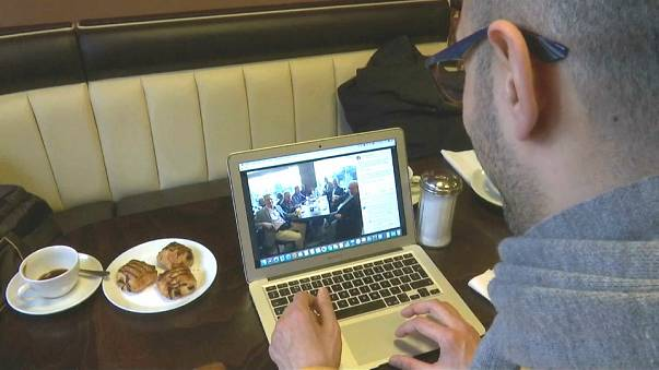 """Syrer entgegnen AfD-Politiker Blex: """"Ich bezahle meinen Kaffee"""""""
