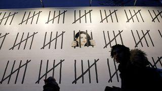 Banksy : hommage à une artiste turque emprisonnée