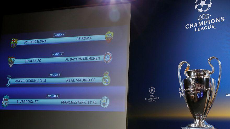 Die Viertelfinale der Champions und Europa League stehen fest