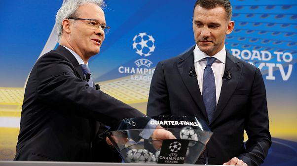 Şampiyonlar Ligi ve UEFA Kupası'nde çeyrek final eşleşmeleri belli oldu