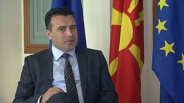 ΠΓΔΜ: Ο Ζάεφ κατηγορεί τον Ιβάνοφ για παραβίαση του Συντάγματος