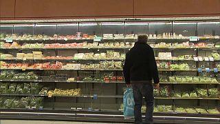 Inflação na Zona Euro recua para 1,1% em fevereiro