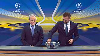 British clubs draw each other in Champions' league quarters