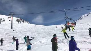 """Georgien: Skilift wird zum """"Fleischwolf"""""""