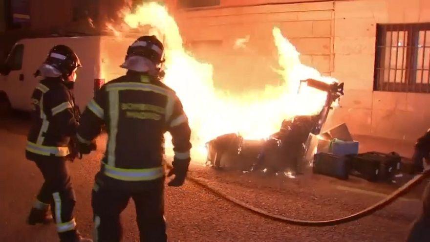 Madrid, ancora tensione dopo la morte di un migrante