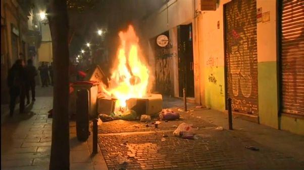 Madrid: Gewaltsame Proteste nach Tod eines Senegalesen