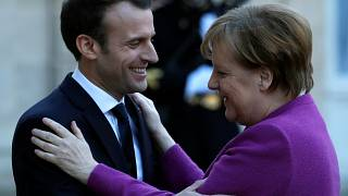 Merkel zu Gesprächen mit Macron in Paris