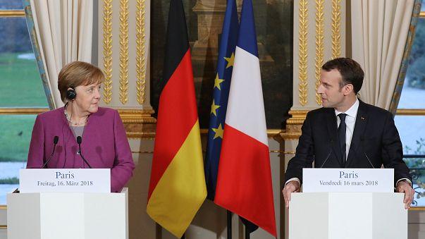 """Alemanha e França condenam """"ingerência russa"""""""