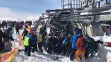 خرابی تلهاسکی در گرجستان تعطیلات گردشگران را به کابوس بدل کرد