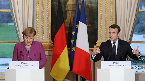 Macron: Zehirleme saldırısını Rusya'nın yaptığına kanaat getirdik