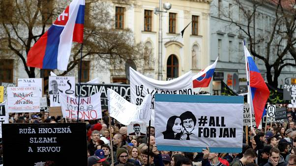 Σλοβακία: Νέα πολυπληθής αντικυβερνητική διαδήλωση