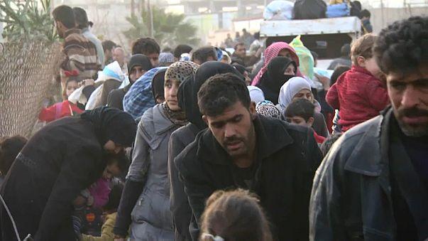 Doğu Guta: Suriye hükümet güçleri ilerliyor, siviller ayrılıyor