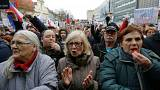 Mordfall Kuciak: Zehntausende fordern Neuwahlen