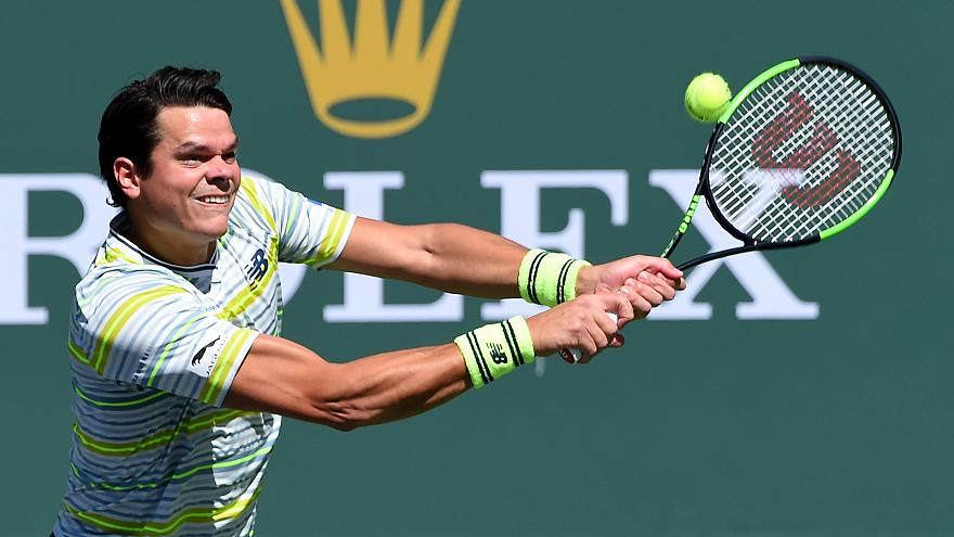 Milos Raonic Indian Wells