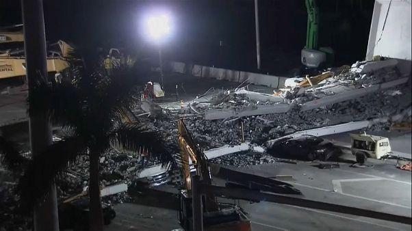 Un ingeniero denunció grietas en el puente de Miami
