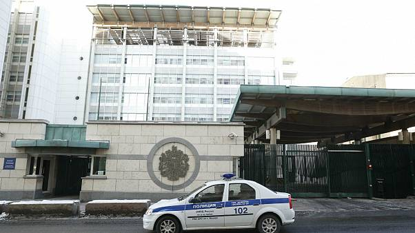 ساختمان سفارت بریتانیا در مسکو