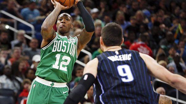 Los Celtics hunden a los Magic
