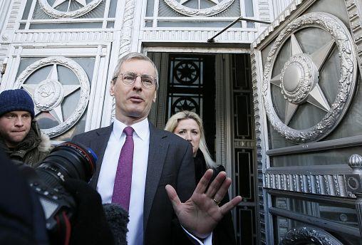 British Ambassador to Russia Laurie Bristow
