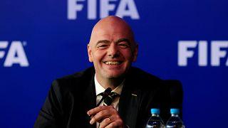 جياني إنفانتينو رئيس الإتحاد الدولي لكرة القدم فيفا