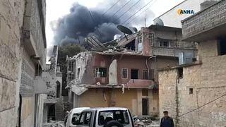 Civil életek veszélyben Szíriában