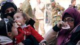 Μαζική έξοδος αμάχων από Γούτα και Αφρίν