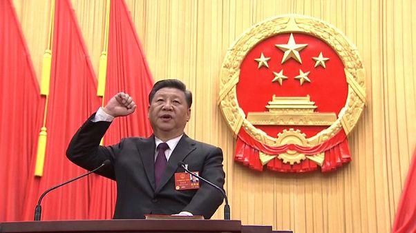 Си Цзиньпин переизбран на второй срок