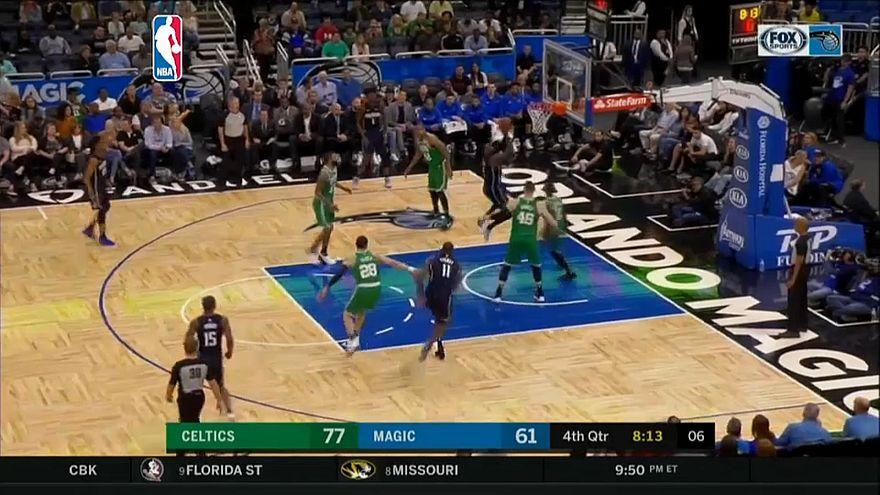 НБА: магия не подействовала