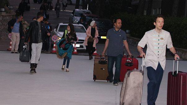 ورود گردشگران ایرانی به هتلی در مارماریس
