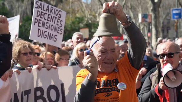 Spagna: la protesta dei pensionati