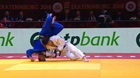 Judo Grand Slam Jekaterinburg 2018: Gold für Hifumi Abe