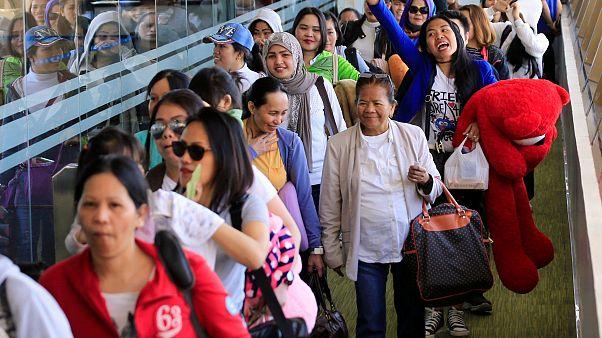 """الكويت والفلبين تطويان صفحة """"جثة الفريزر"""" وتوقعان اتفاقية بشأن العمالة المنزلية"""