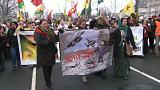Clamor kurdo en Alemania contra Turquía