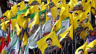 Kurd megmozdulások Németországban