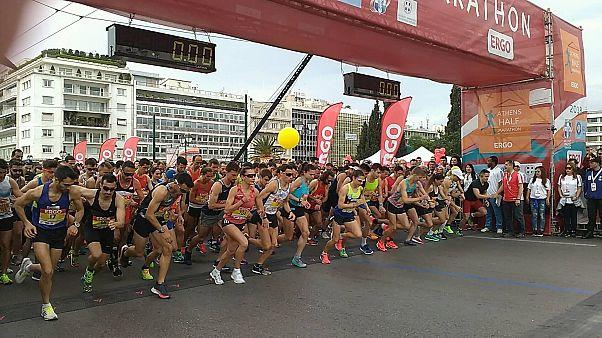7ος Ημιμαραθώνιος Δρόμος Αθήνας - Δείτε ποιοι τερμάτισαν πρώτοι