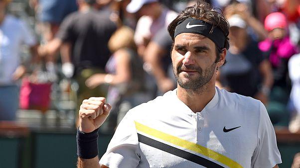 تنیس؛ راهیابی  فدرر و دل پوترو به دیدار پایانی تورنمنت ایندین ولز