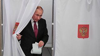 رأیگیری انتخابات ریاست جمهوری روسیه آغاز شد