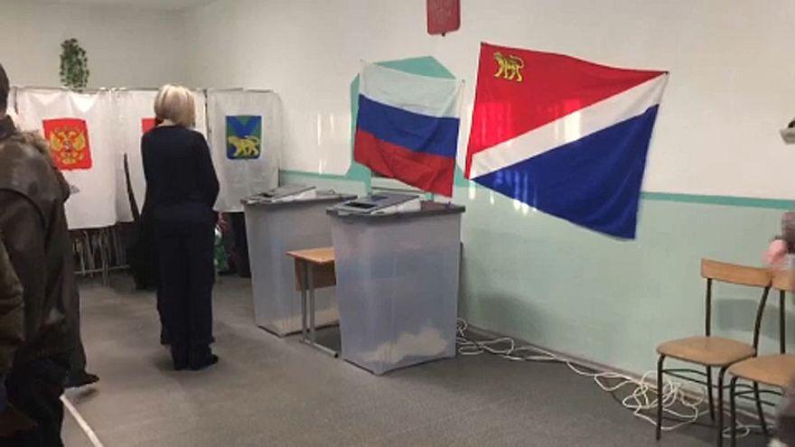 Elkezdődött az elnökválasztás Oroszországban