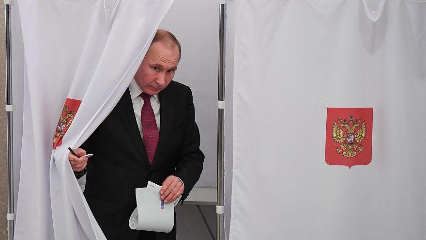 Russland: Höhere Wahlbeteiligung als 2012