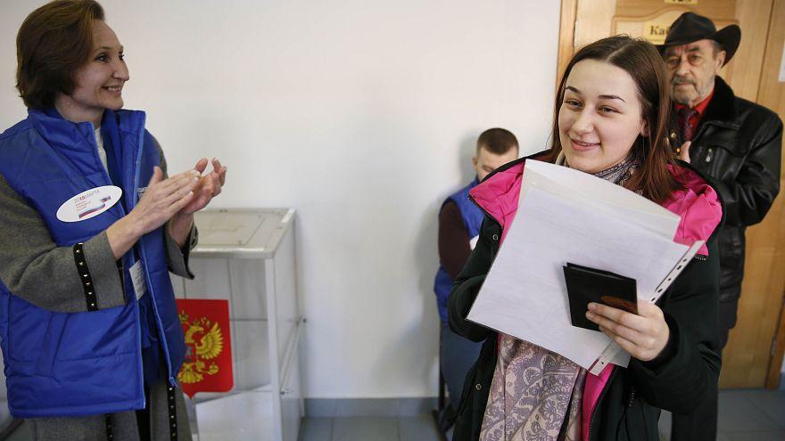 Election présidentielle russe : ouverture des bureaux de vote euronews