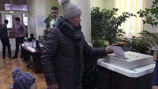 Voting began in the far-east city of Petropavlovsk - Kamchatsky