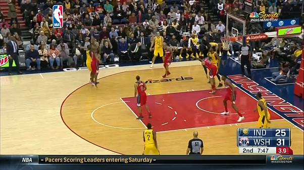 NBA: Washington batte Indiana