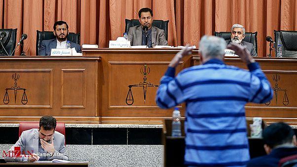 سومین جلسه دادگاه متهم به قتل ماموران نیروی انتظامی ایران